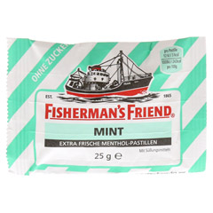 FISHERMANS FRIEND mint ohne Zucker Pastillen 25 Gramm