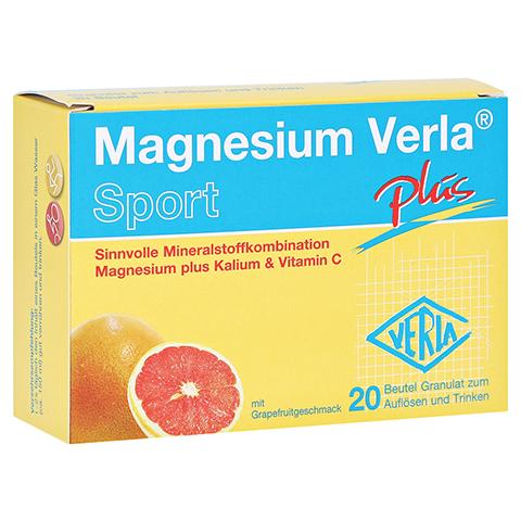 MAGNESIUM VERLA plus Granulat 20 Stück