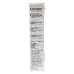 CURAPROX White is Black Kohlezahnpasta mild+Bürste 1 Stück - Rückseite