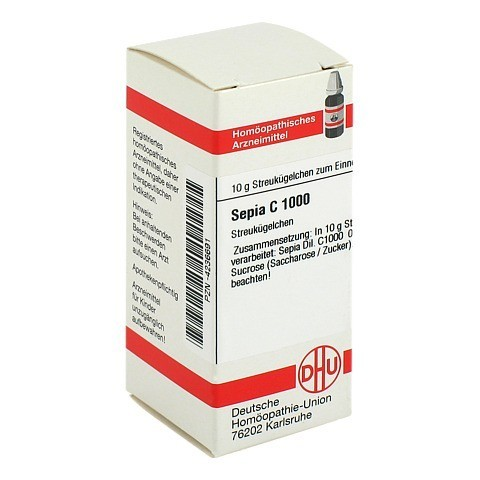 SEPIA C 1000 Globuli 10 Gramm N1