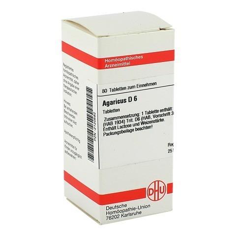 AGARICUS D 6 Tabletten 80 Stück N1