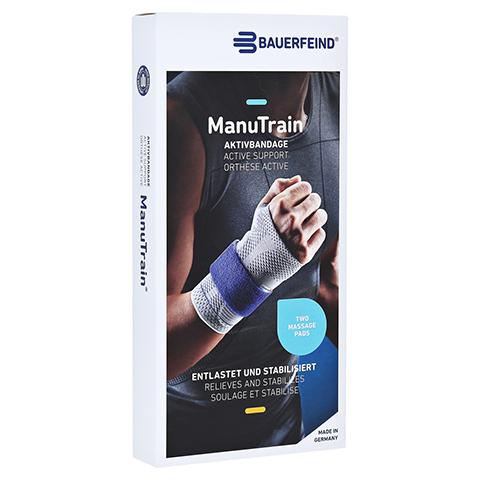 MANUTRAIN Handgelenkbandage links Gr.2 titan 1 St�ck