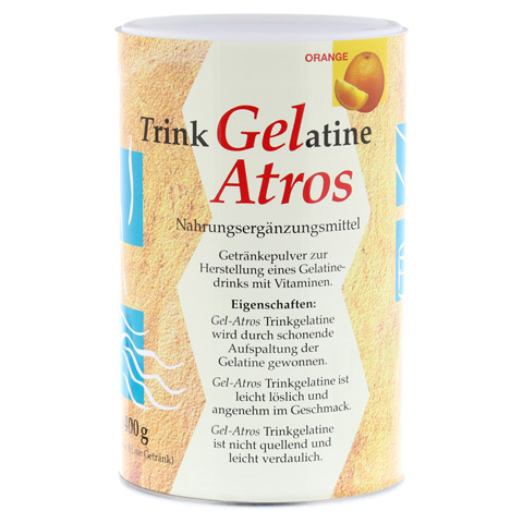 GEL-ATROS Trinkgelatine Orange 400 Gramm