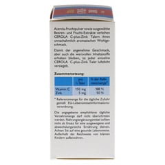 CEROLA C plus Zink Taler Grandel 32 Stück - Linke Seite