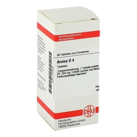 ARNICA D 4 Tabletten 80 St�ck N1