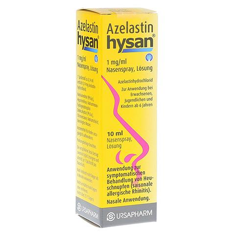 Azelastin hysan 1mg/ml 10 Milliliter N1