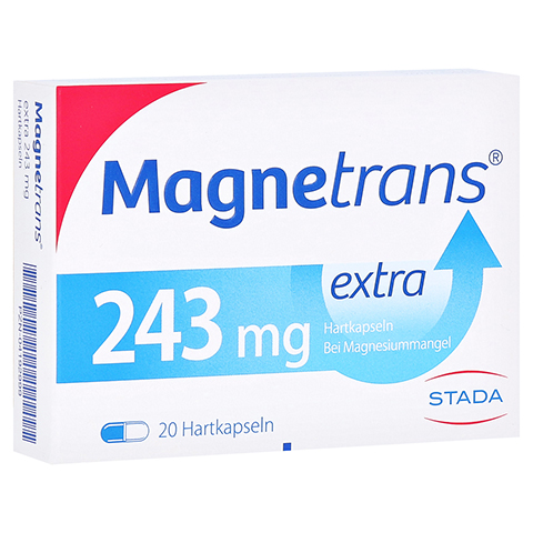 MAGNETRANS extra 243 mg Hartkapseln 20 Stück N1