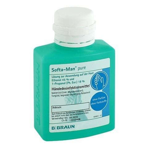 SOFTA MAN pure Händedesinfektionsmittel 100 Milliliter