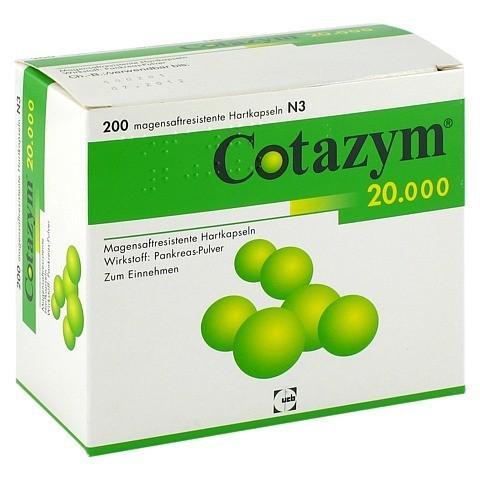 Cotazym 20000 200 Stück N3