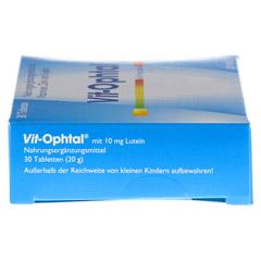 VIT OPHTAL mit 10 mg Lutein Tabletten 30 Stück - Linke Seite
