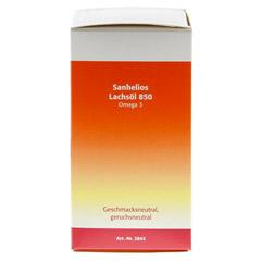 SANHELIOS Lachsöl 850 Omega-3 Kapseln 80 Stück - Rechte Seite