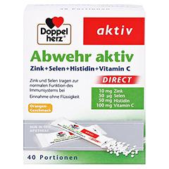 DOPPELHERZ Abwehr aktiv DIRECT Pellets 40 Stück - Vorderseite