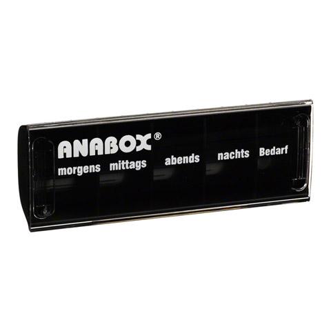 ANABOX Tagesbox schwarz 1 St�ck