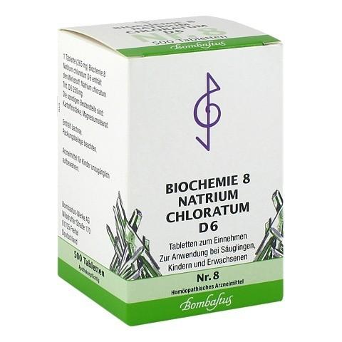 BIOCHEMIE 8 Natrium chloratum D 6 Tabletten 500 Stück N3