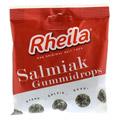 RHEILA Salmiak Gummidrops mit Zucker