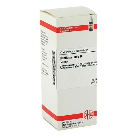 GENTIANA LUTEA Urtinktur 50 Milliliter N1