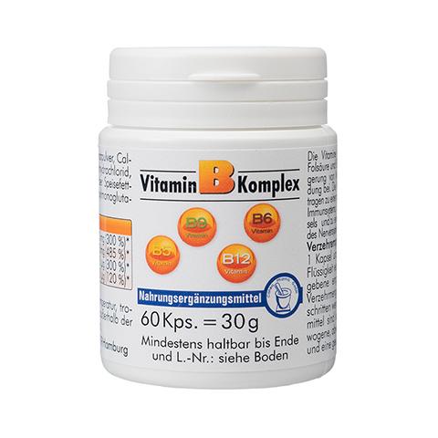 VITAMIN B Komplex Kapseln 60 St�ck