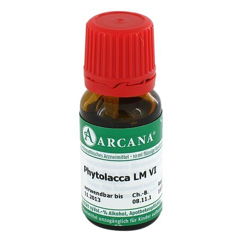PHYTOLACCA Arcana LM 6 Dilution 10 Milliliter N1