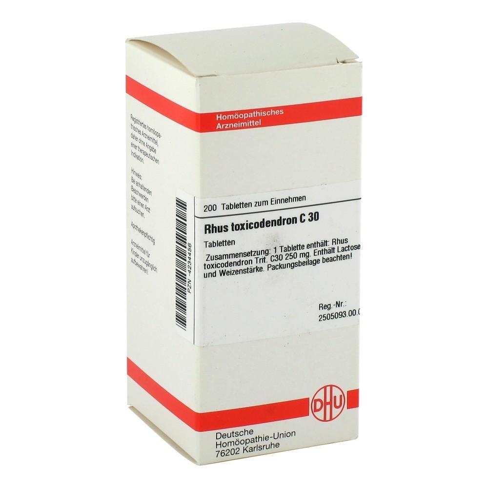 RHUS TOXICODENDRON C 30 Tabletten 200 Stück