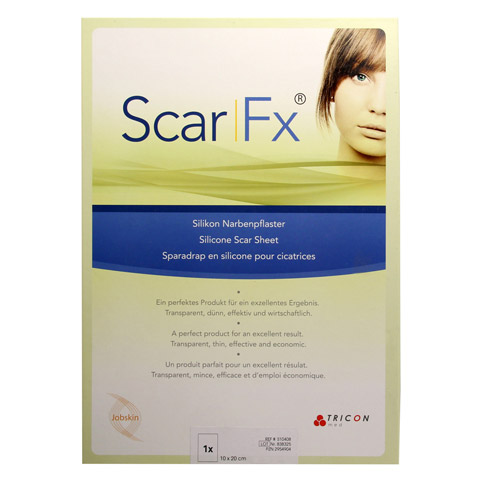 SCAR FX Silikon Narben Pflast.10x20cm 1 Stück