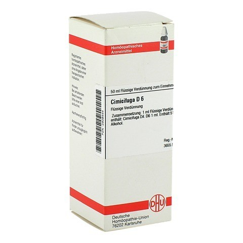 CIMICIFUGA D 6 Dilution 50 Milliliter N1