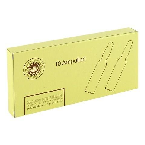 SANUVIS Injektion Ampullen 10x2 Milliliter N1