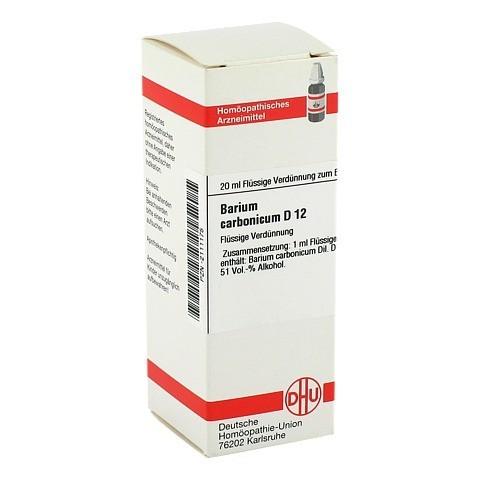 BARIUM CARBONICUM D 12 Dilution 20 Milliliter N1