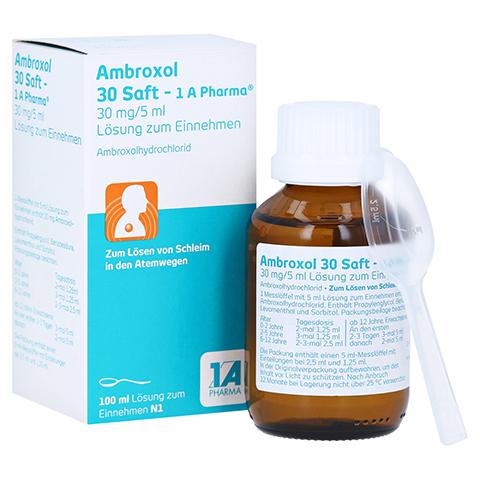 Ambroxol 30 Saft-1A Pharma 100 Milliliter N1
