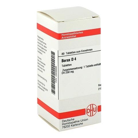 BORAX D 4 Tabletten 80 St�ck N1
