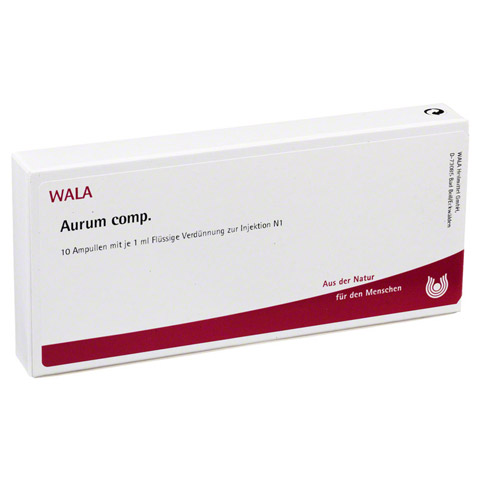 AURUM COMP Ampullen 10x1 Milliliter N1