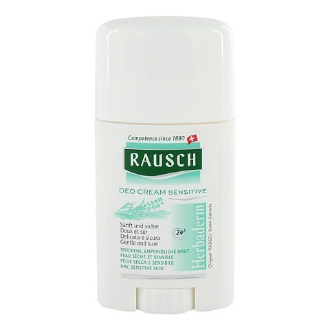RAUSCH Deo Cream Sensitive 40 Milliliter