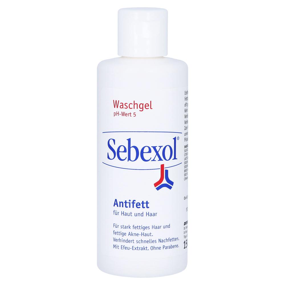 sebexol antifett haut haar shampoo 150 milliliter online bestellen medpex versandapotheke. Black Bedroom Furniture Sets. Home Design Ideas