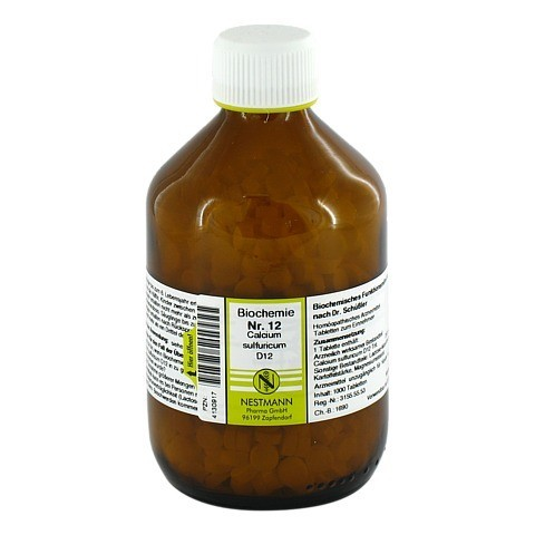 BIOCHEMIE 12 Calcium sulfuricum D 12 Tabletten 1000 St�ck