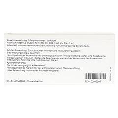 ACONITUM E tubere D 30 Ampullen 10x1 Milliliter N1 - Rückseite