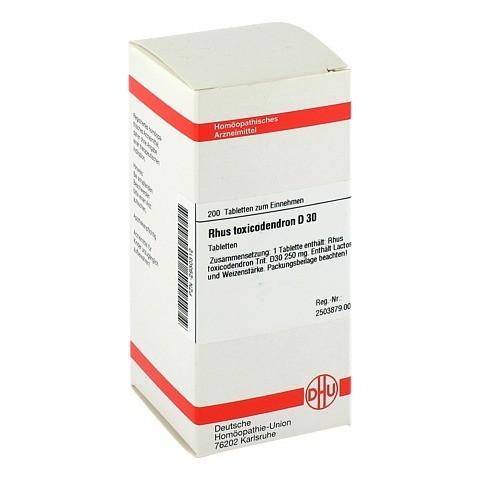 RHUS TOXICODENDRON D 30 Tabletten 200 Stück