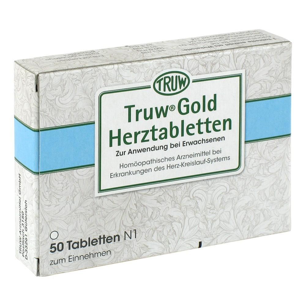 TRUW GOLD Herztabletten 50 Stück