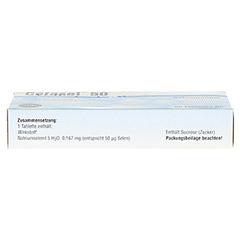 CEFASEL 50 �g Tabletten 60 St�ck N2 - Oberseite