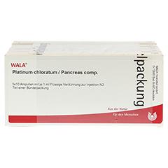 PLATINUM CHLORATUM/Pancreas comp.Ampullen 50x1 Milliliter N2 - Vorderseite