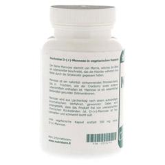 D MANNOSE 500 mg vegetarische Kapseln 90 Stück - Linke Seite