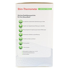 APONORM Fieberthermometer Stirn Contact-Free 3 1 Stück - Rechte Seite