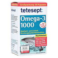 TETESEPT Omega-3 1000 Kapseln 80 Stück