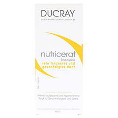 DUCRAY NUTRICERAT Ultra nutritiv Shamp.trock.H. 200 Milliliter - Vorderseite