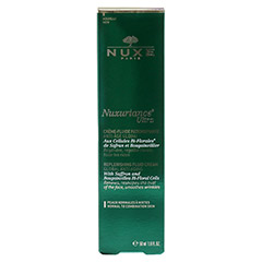 NUXE Nuxuriance Ultra Creme-Fluid 50 Milliliter - R�ckseite