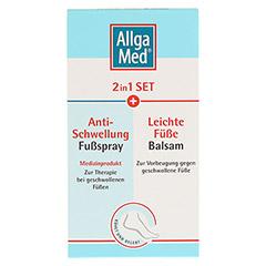 ALLGA MED 2in1 Set Anti-Schwel.Fu�spr.+lei.F�.Bal. 1 St�ck - Vorderseite