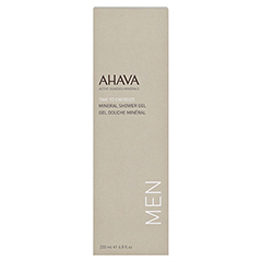 Ahava Men Mineral Shower Gel 200 Milliliter - Vorderseite
