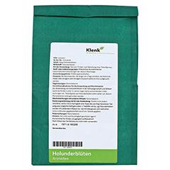 Holunderbl�ten Tee 250 Gramm - R�ckseite