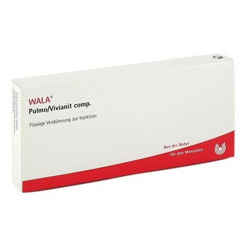 PULMO/ VIVIANIT COMP. Ampullen 10x1 Milliliter N1