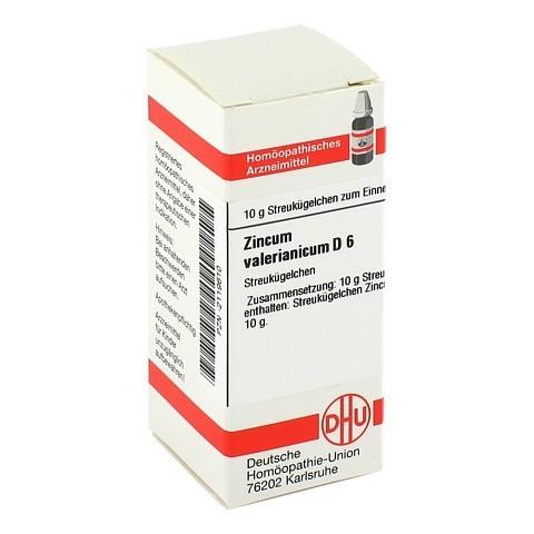 ZINCUM VALERIANICUM D 6 Globuli 10 Gramm N1