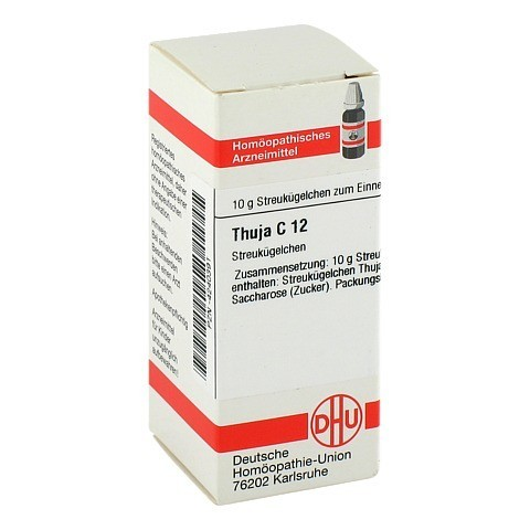 THUJA C 12 Globuli 10 Gramm N1