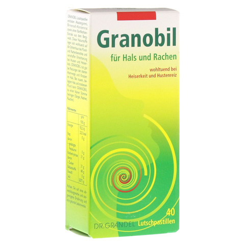 GRANOBIL Grandel Pastillen 40 St�ck